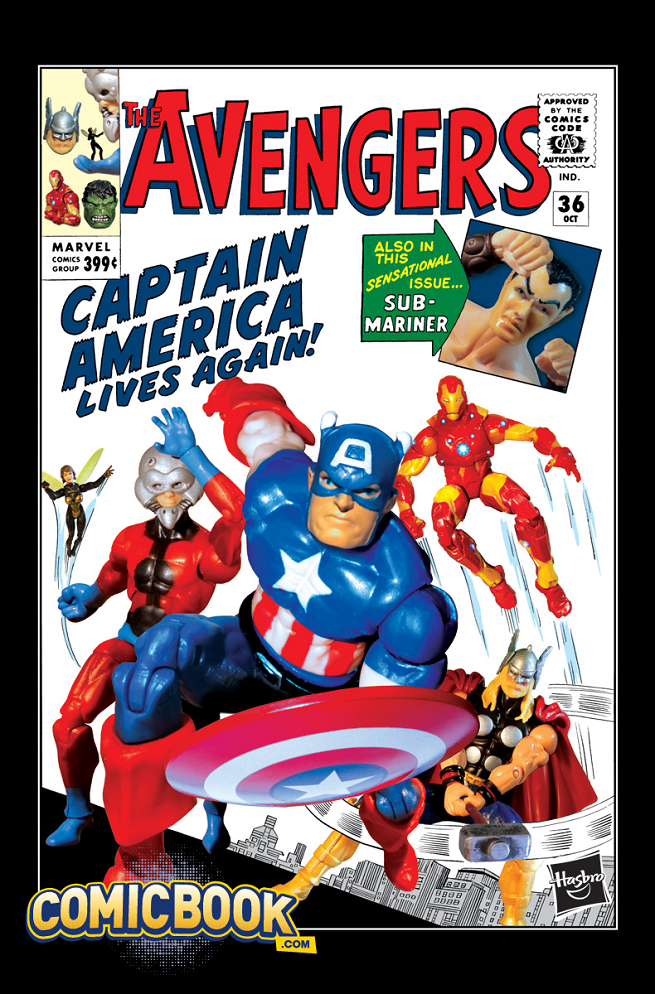 Exclusive Guardians Of The Galaxy And Avengers Hasbro Variant Covers For October