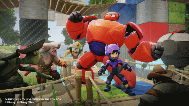 Hero 6 will be a part of the disney infinity toy box 2 0 edition
