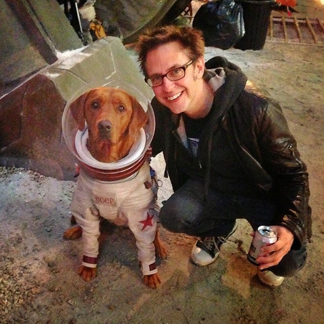 Guardians of the Galaxy: Things We Learned From James Gunn ... Cosmo The Dog Guardians Of The Galaxy