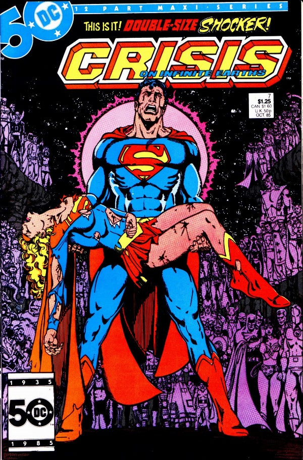 Best Comic Book Covers Of All Time : Greatest dc crossover events of all time