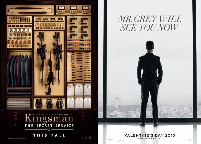 Kingsman:The Secret Service Now Going Up Against Fifty Shades Of Grey