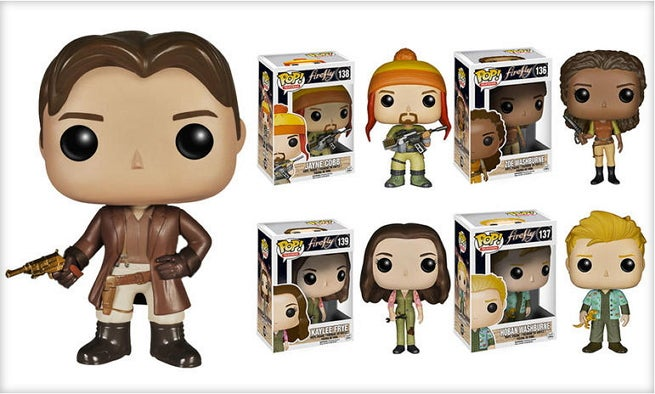 Funko Reveals Pop Figures Based On Joss Whedon S Firefly