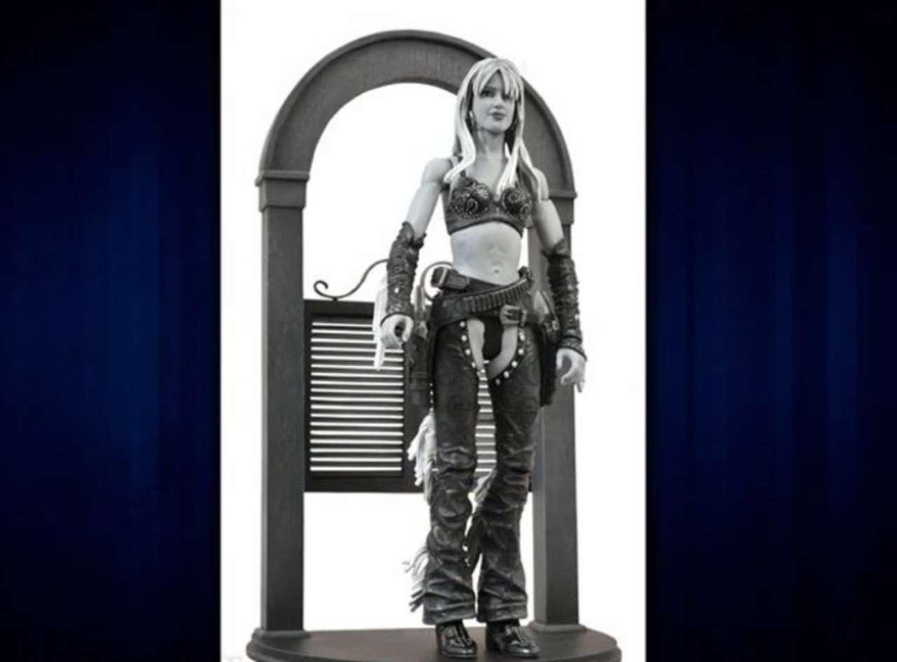 Jessica Alba action figure