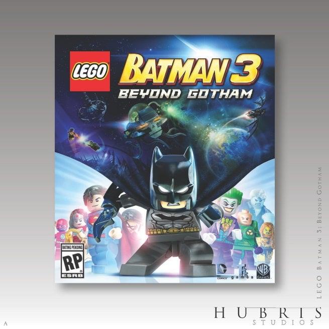 LEGO Batman 3: Beyond Gotham Key Art Released