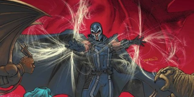 Magneto 9 Cover top