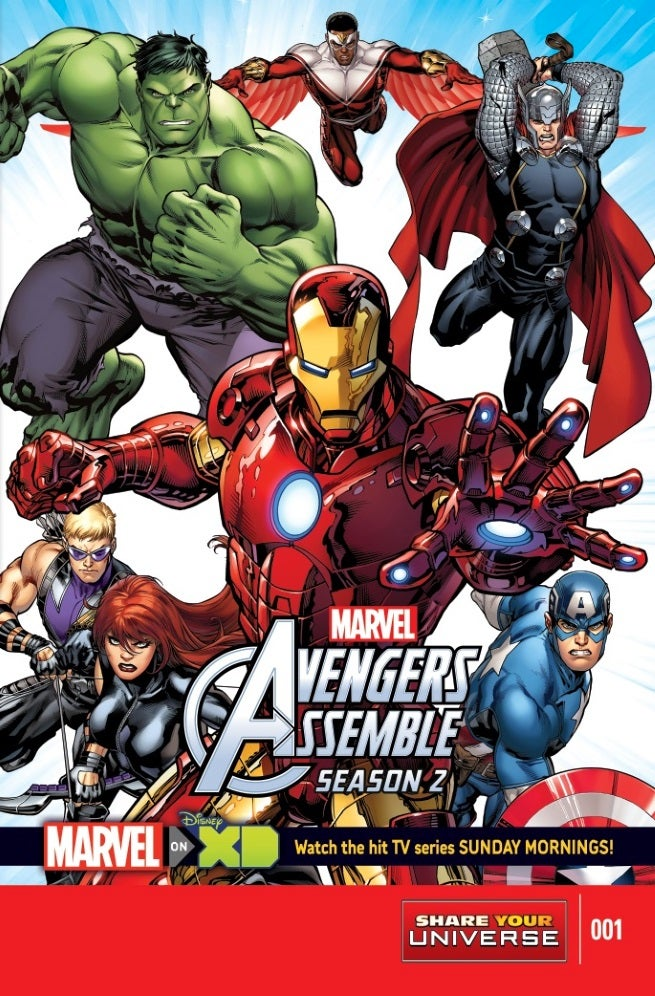 Marvel Announces New Avengers And Spider-Man All-Ages Comic Books ...