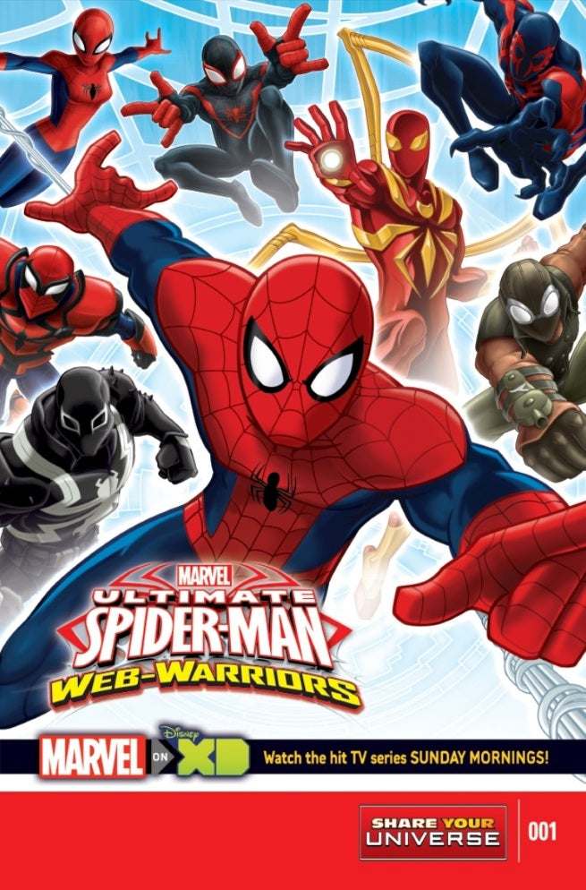 marvel announces new avengers and spider man all ages