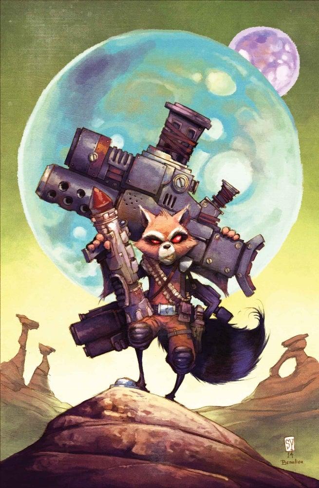 Exclusive First Look: Rocket Raccoon #3