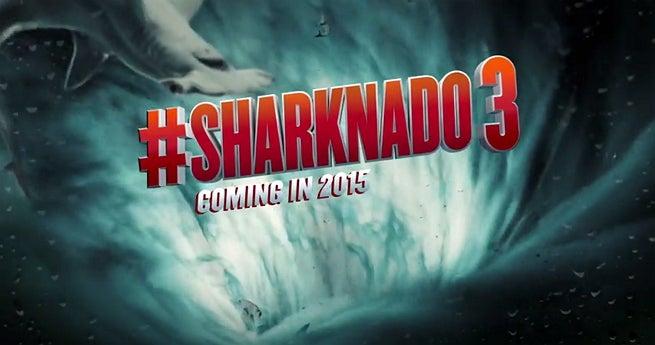 Sharknado 3 Teaser Trailer Released