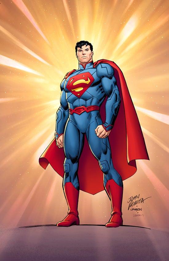 Superman Comic Book Cover Art : John romita sr to provide superman variant cover
