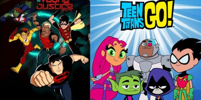 teen titans go - young justice