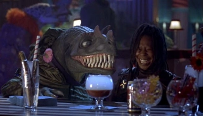 Trailer For Theodore Rex, A $33 Million Buddy Cop Movie Starring Whoopi Goldberg And A Dinosaur Goes Viral