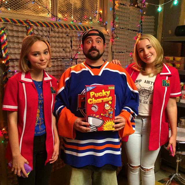 Filmmaker Kevin Smith doesn t look so heavy for a guy with a podcast    Kevin Smith Daughter