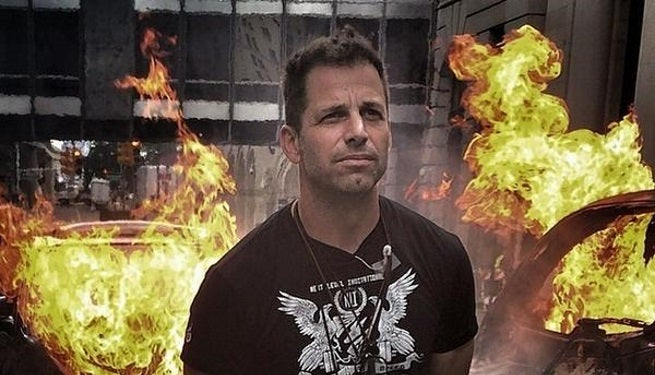 zack snyder burning cars top