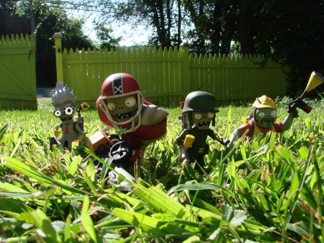 Plants vs. Zombies: Garden Warfare Toys Announced