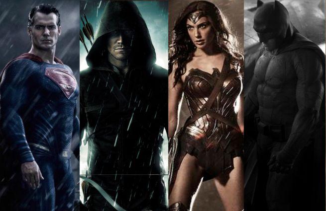 Arrow Justice League Movie