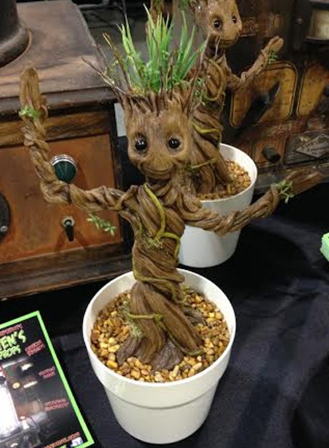 Dancing Baby Groots Spotted At Wizard World Nashville