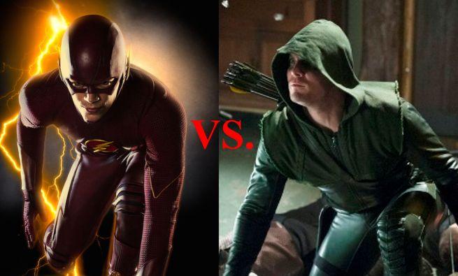 The Flash - Flash vs. Arrow