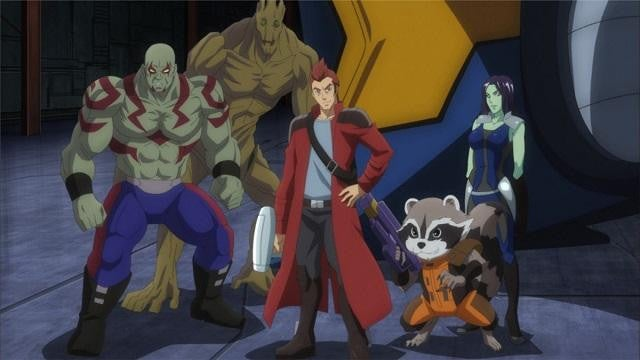 Japanese anmation studio toei will bring the guardians of the galaxy