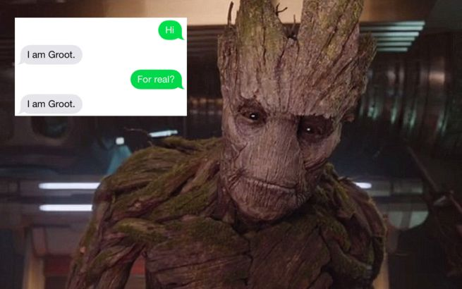 Guardians Of The Galaxy Fans Can Now Text Groot