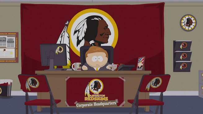 Cartman Wades Into Washington Redskins Controversy In South Park Season 18 Teaser