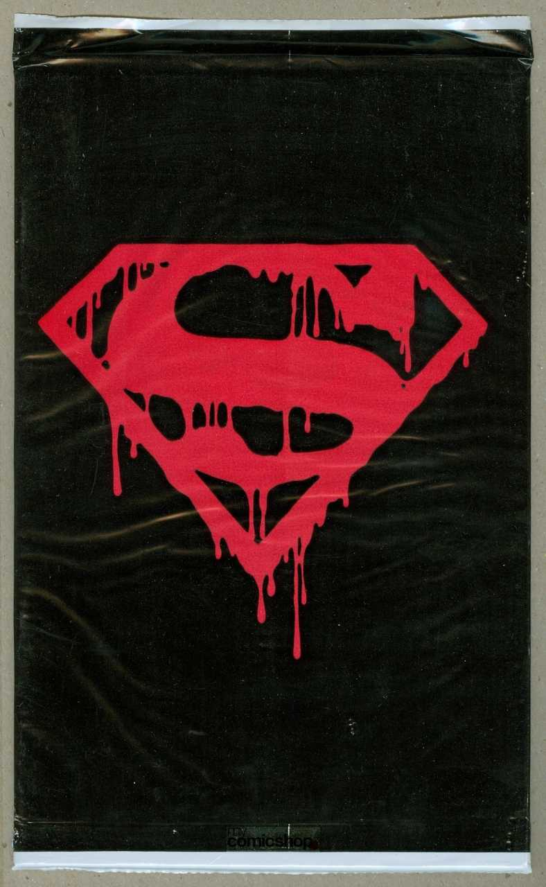 Superman Comic Book White Cover : Great gimmick covers from the s