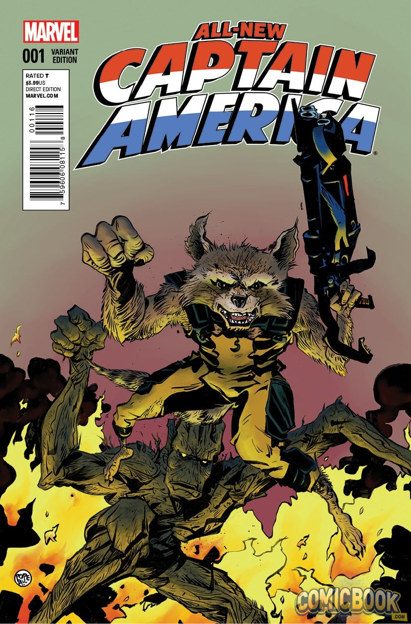 Captain America Comics 1 Value All-new Captain America 1