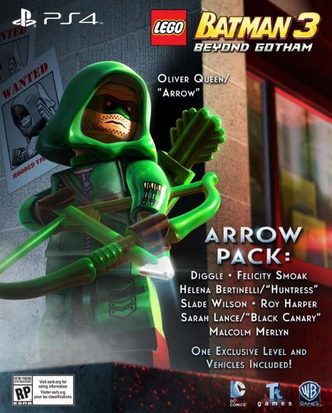 Lego Batman 3 Arrow Dlc Pack Now Available Pictures To Pin On Pinterest