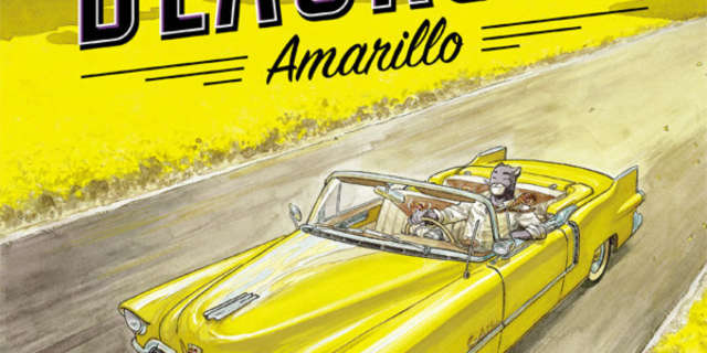 Blacksad Amarillo Cover