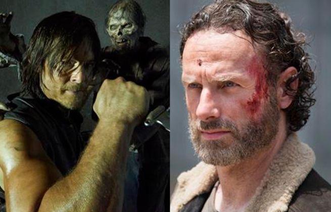Daryl Dixon Rick Grimes Beard