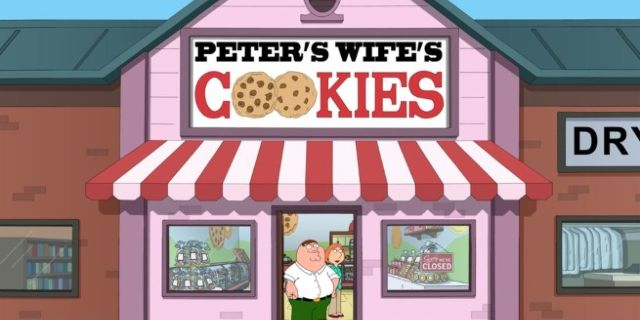 family guy baking bad