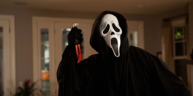 ghostface in scream-HD