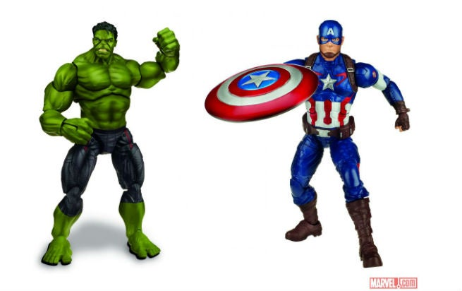 Avengers: Age of Ultron Toys Revealed