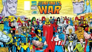 Infinity War Gatefold Cover