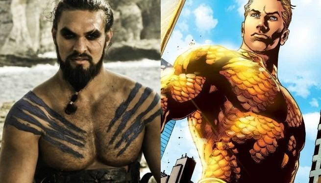 Game Of Thrones Creator Endorses Jason Momoa As Aquaman