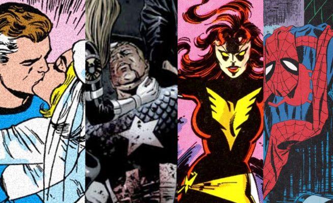 Marvel Comics top moments
