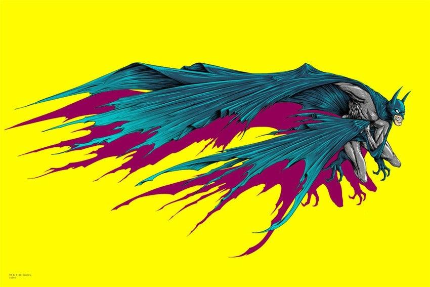 Batman Art Print Art Prints of Batman And