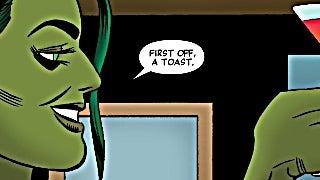 She-Hulk - A Toast