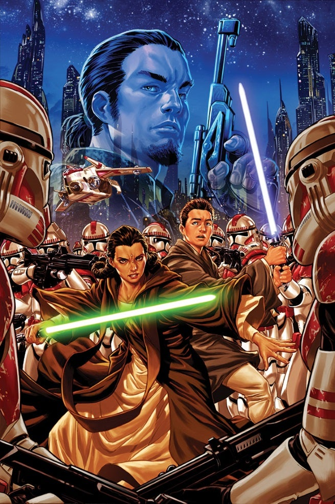 Star Wars Kanan 1 Cover Mark Brooks