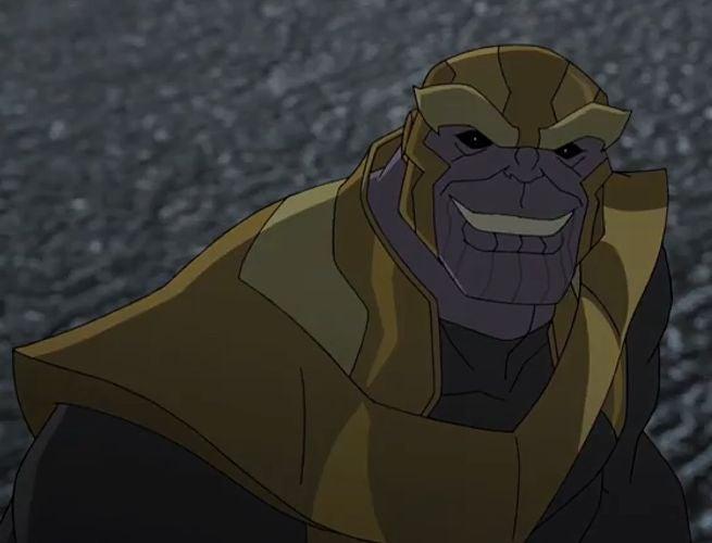 Thanos Smiles