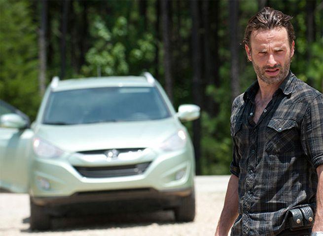 The Walking Dead Season 5 Loses Its Hyundai