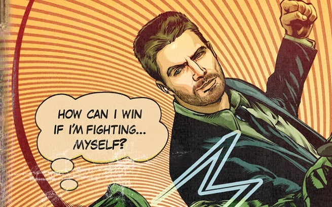 Exclusive: Arrow Vs. Oliver Queen in a Comic Book-Inspired