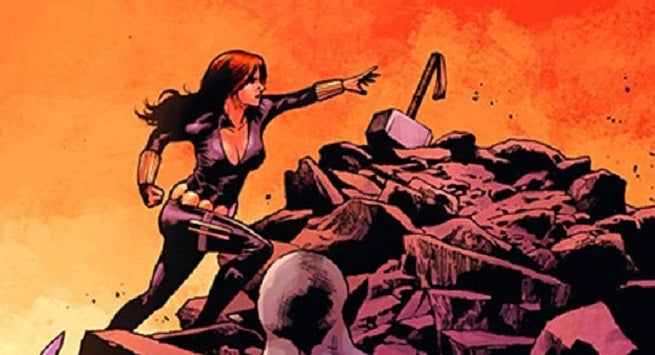 black widow didn 39 t try to lift thor 39 s hammer in avengers