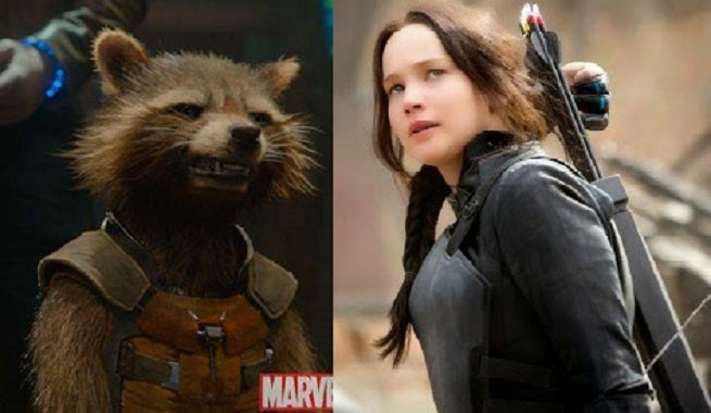 With Hunger Games Falling Short, Guardians Of The Galaxy Could Win The Year At U.S. Box Office