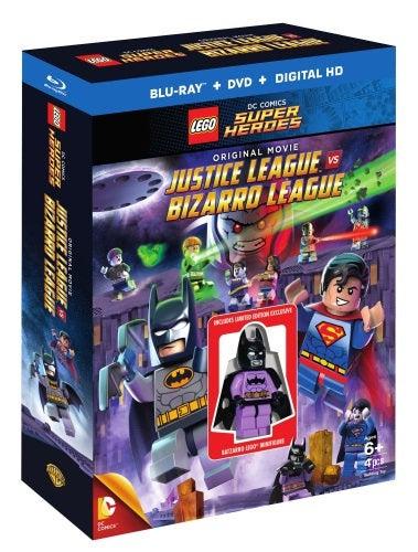 Lego Justice League Vs. Bizarro League Movie Revealed