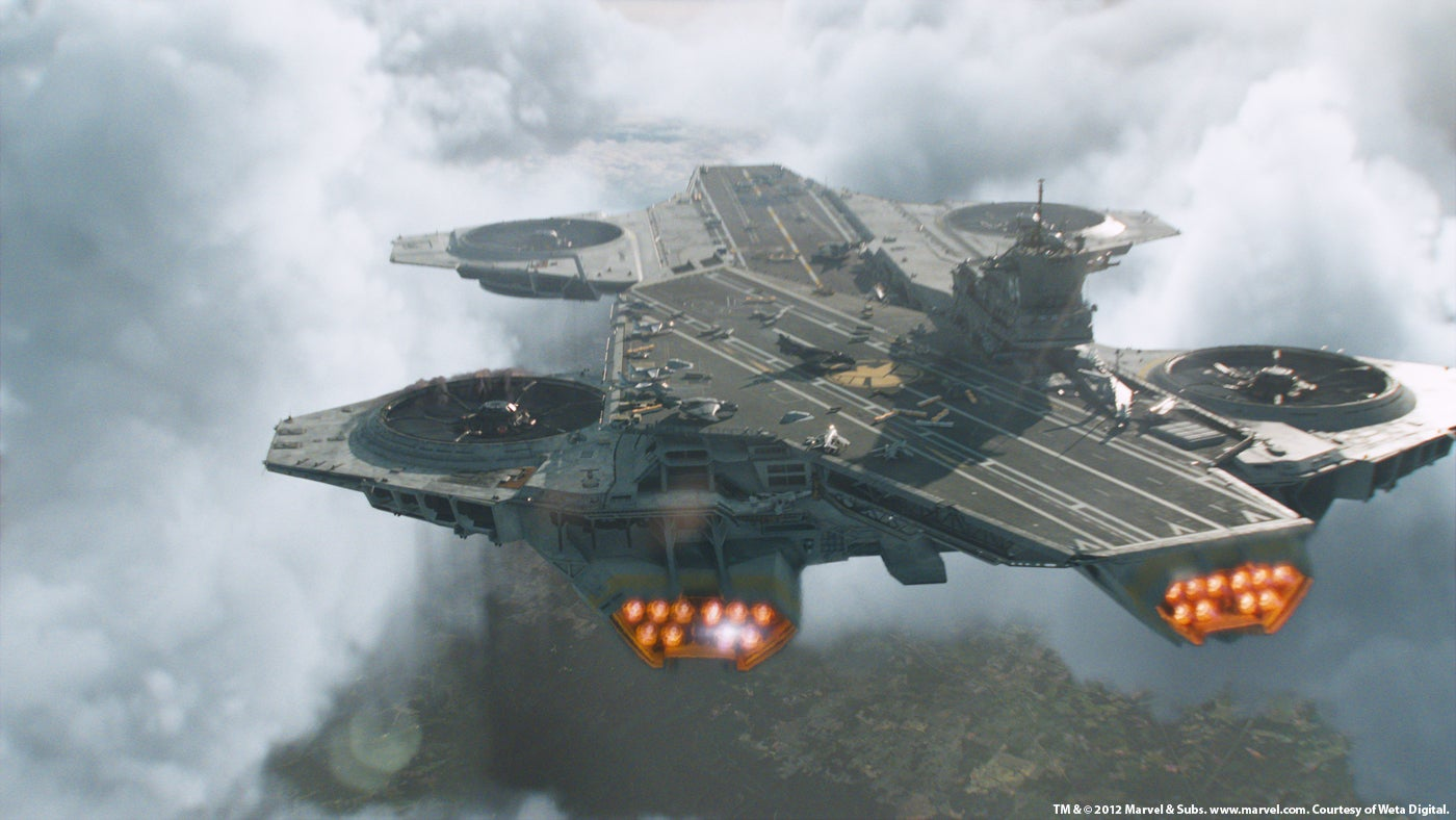 Pentagon Wants To Build SHIELD Helicarriers Like In The Avengers