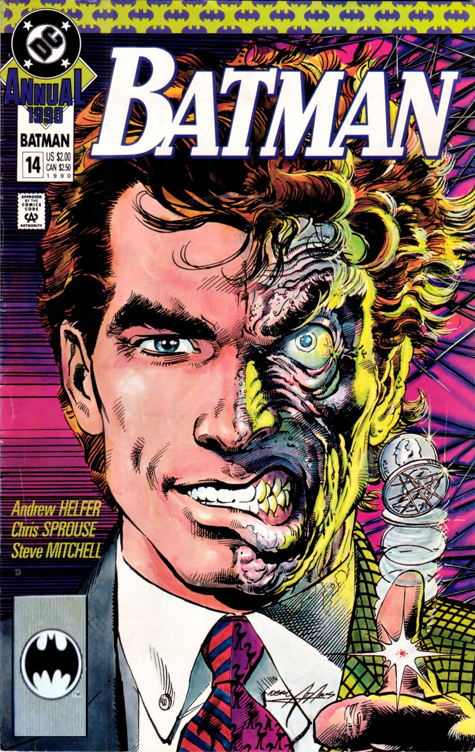 5 Essential Two-Face Stories