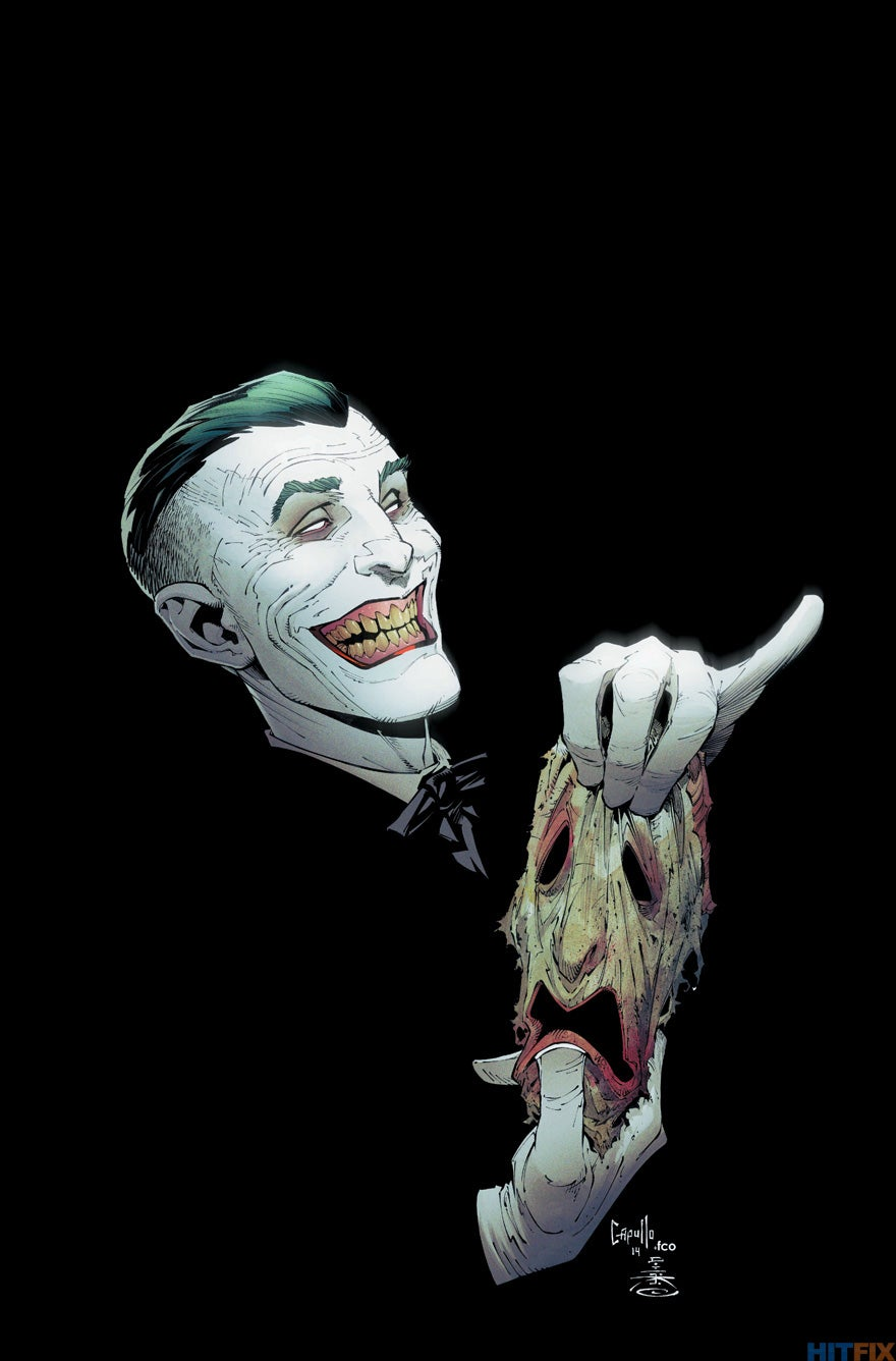 new 52 joker gets his face back