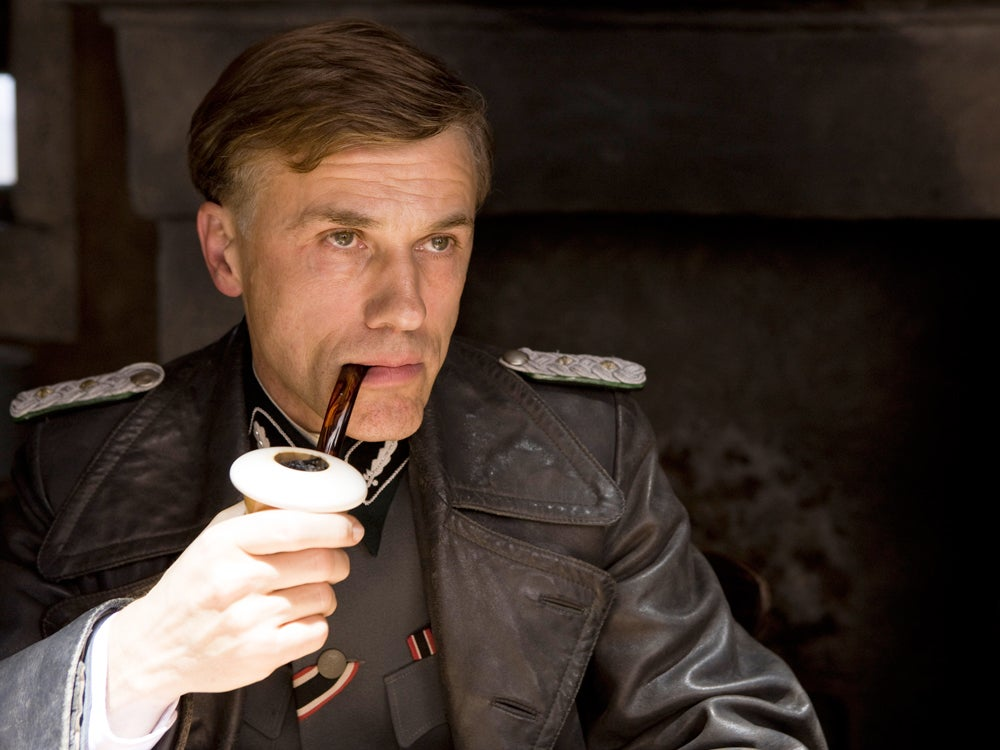 Christoph Waltz Inglourious Basterds Pipe