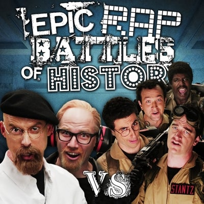 ghostbusters and mythbusters square off in an epic rap battle
